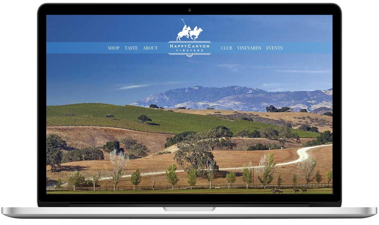 Happy Canyon Vineyard Home Page