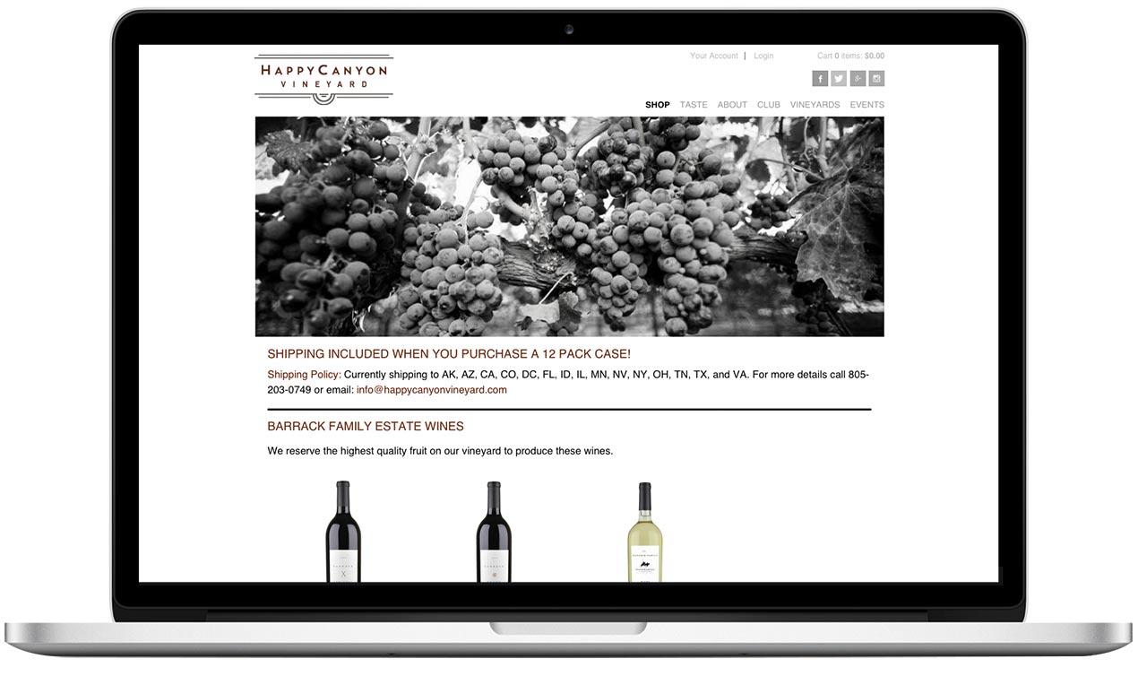 Happy Canyon Vineyard Shop