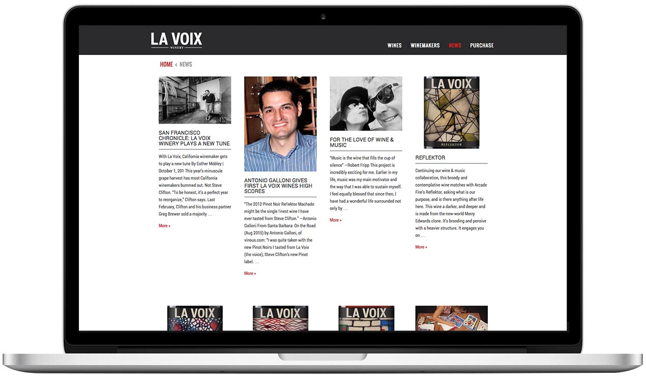 La Voix Winery Read the Latest News