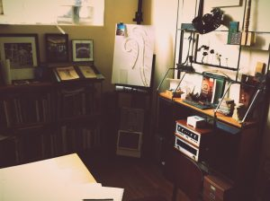 A Corner of Studio 7 – Inspiration and Projects Are Everywhere