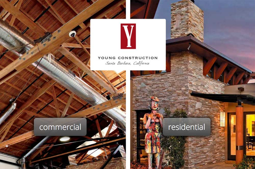 Young Construction, Santa Barbara Home Page