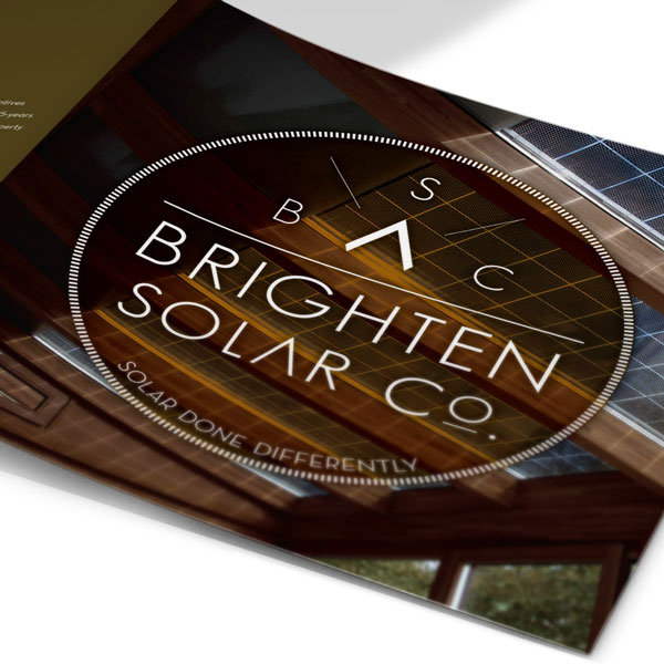 Branding & Website Design project for Brighten Solar