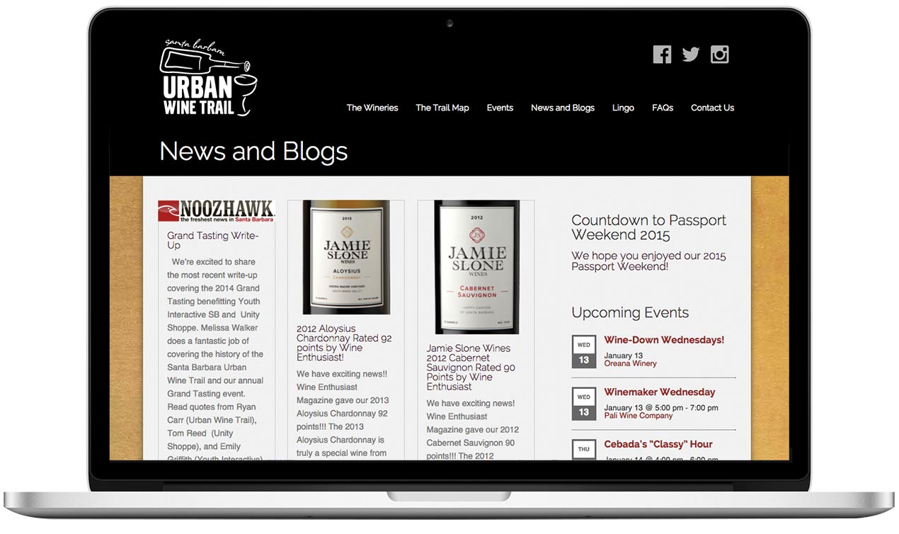 Santa Barbara Urban Wine Trail News Page