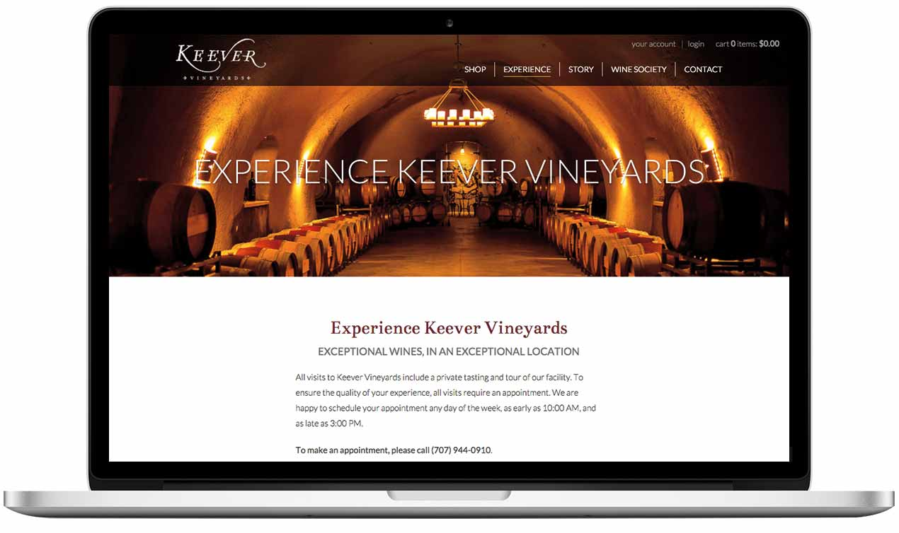 Keever Vineyards in Napa Valley